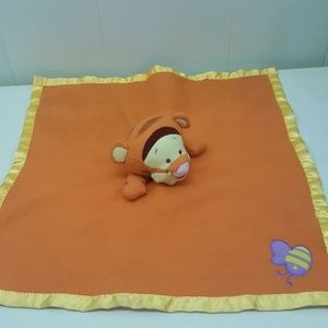 Disney Tigger Lovey Security Blanket Plush Orange